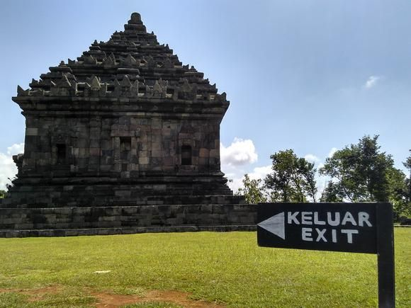 The beauty of Candi Ijo