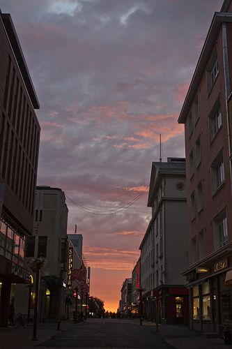 my hometown centrum in the summertime :) [Oulu, Finland]