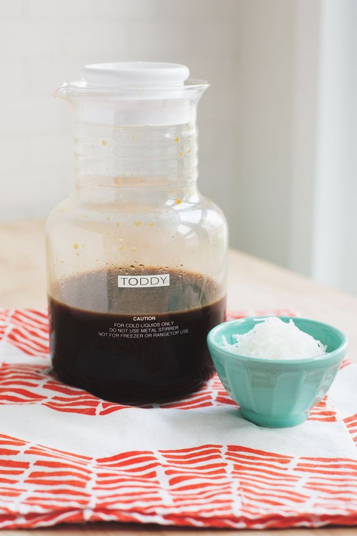 Toasted Coconut Cold Brew Coffee - A Beautiful Mess