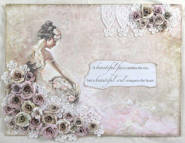 Moments of Tranquility... by Natasha Naranjo Aguirre: 'Beautiful Soul' Canvas - C'est Magnifique