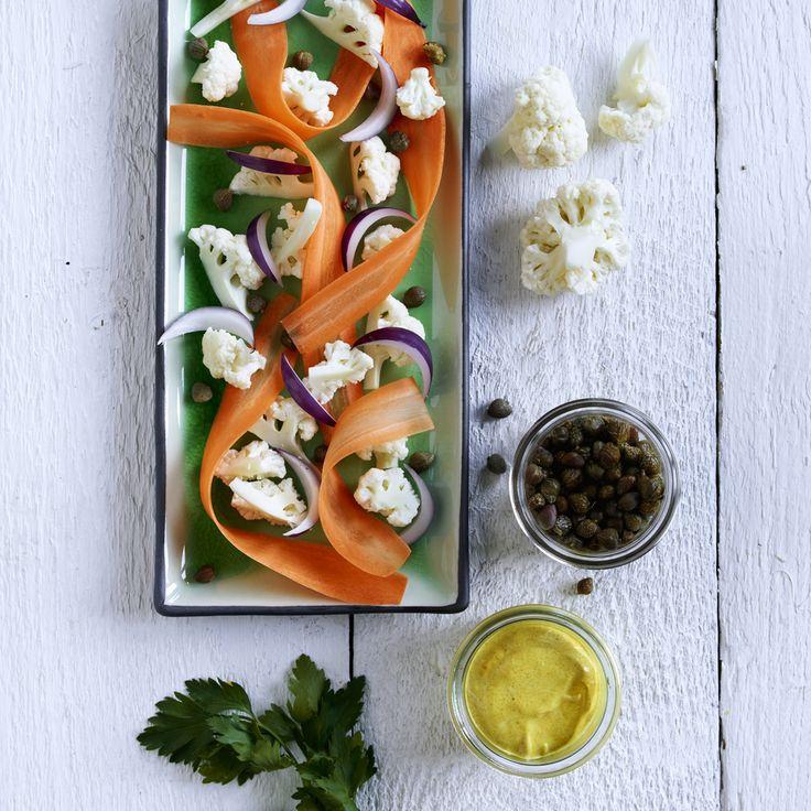 Raw Cauliflower Salad Photo: Elisabeth Jahr Hilde