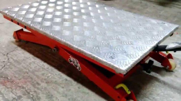 fabriquer une table élévatrice lève quad lève moto