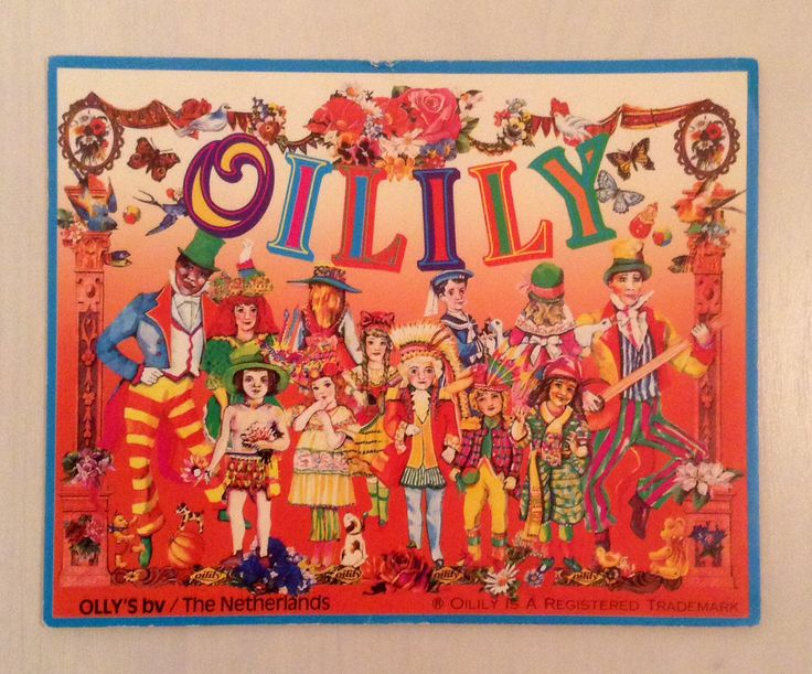 Oilily postcard vintage