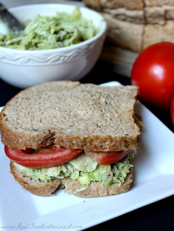 Quick and easy avocado chicken salad!   Great lunch idea!