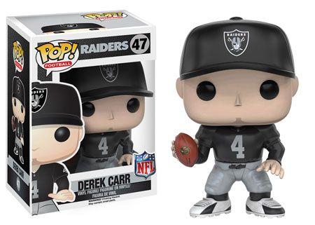 NFL Raiders Derek Carr Pop figure by Funko