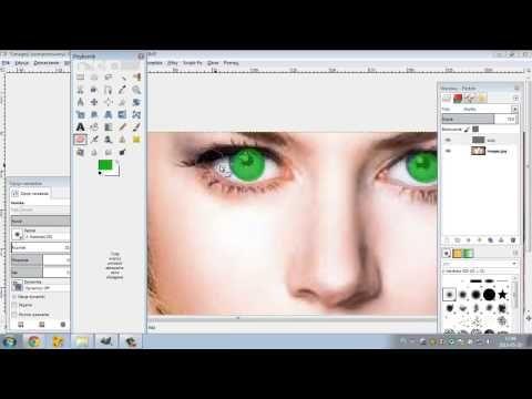 [Poradniki-informatyka.cba.pl]Jak zmienić kolor oczu