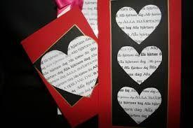Bildresultat för origami hjärtans kort