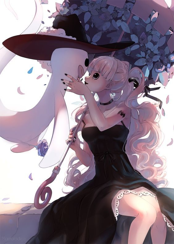 Art of the Day: Perona (One Piece) Artist: Marmaladica on DeviantArt