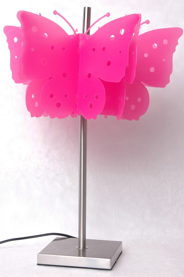 Sariah's Room Butterfly Table Lamp by Rouge Living www.harveynorman.co.nz  Gorgeous bright coloured lamp!!