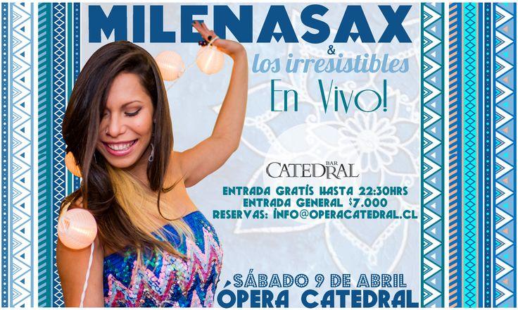#MilenaSax #Concierto #OperaCatedral ·9deAbril