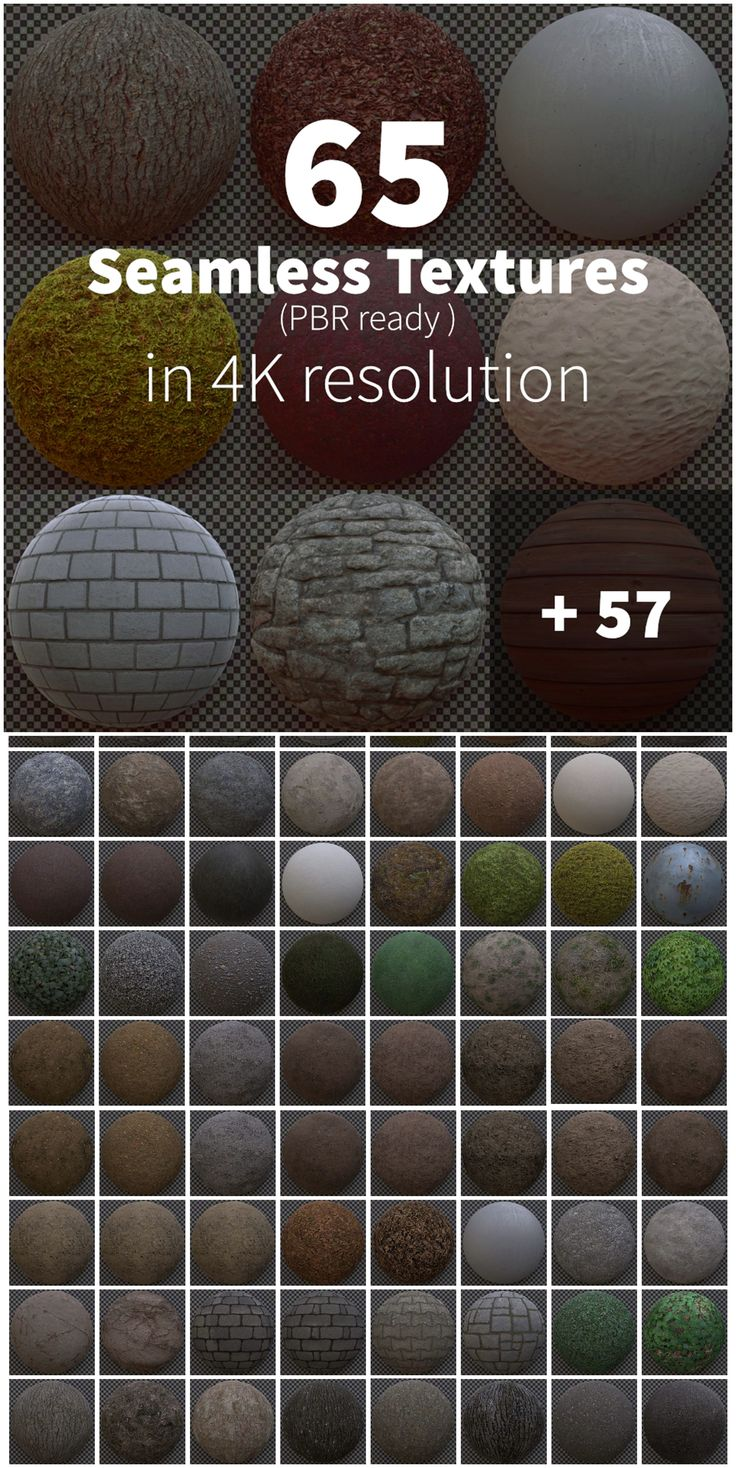 Seamless Textures in 4k PBR Free Download Seamless