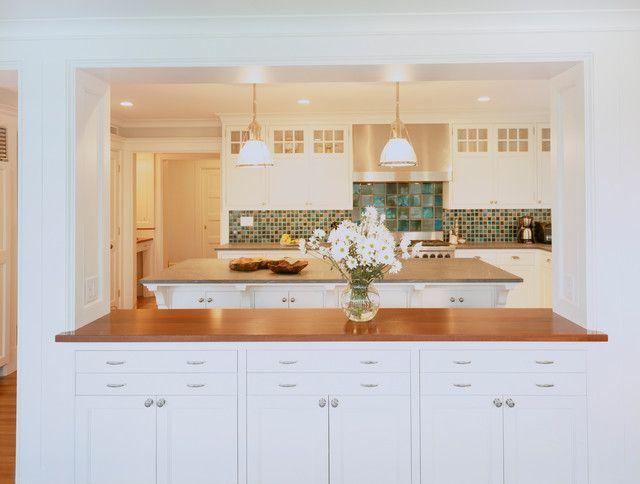 Kitchen Pass Through House Design