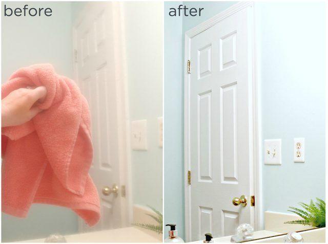 Diy Mirror Defogger For Bathrooms Ehow Diy Mirror Mirror Frame Diy Defogger