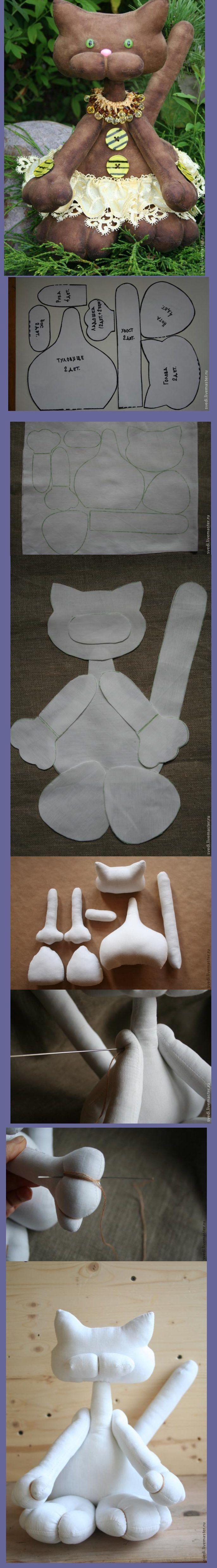 Animais confeccionados em tecido ou feltro