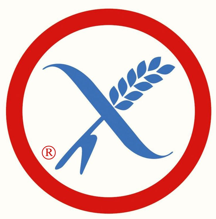 Crossed grain logo - the logo gluten free consumers look for and trust.