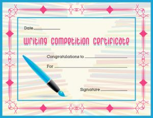 133 best certificates images on pinterest confidence and lion writing competition award certificate template for ms word download at httpcertificatesinn yelopaper Gallery