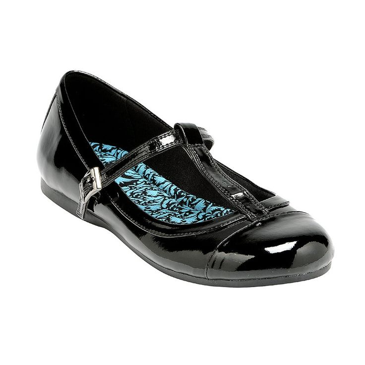 girls black leather shoes | Home › Girl's › Shoes › Angry Angels Rebel Girls Black Leather ...