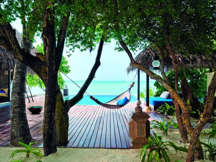 .Beach House, Dreams, Hammocks, Interiors Design, Places, The Maldives, Taj Exoticas, Exoticas Resorts, Spa