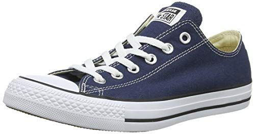 350b828410fb52 Converse Unisex Chuck Taylor All Star Low Top Blue Sneake... https