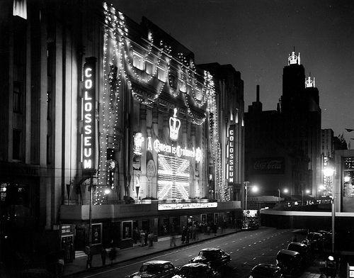 Colosseum Theatre, Johannesburg (1954)