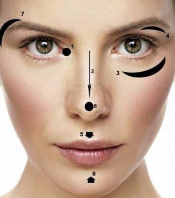 Conheça seis maneiras corretas de usar o iluminador para valorizar seu rosto e sua maquiagem. Veja como a make pode te deixar com visual de capa de revista.
