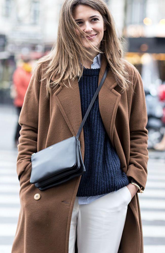 Klassieke combinatie | Céline tas | Paris Fashion Week