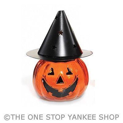 Yankee Candle Halloween 2013 Jack O Latern Witch Small Tea Light Holder | eBay