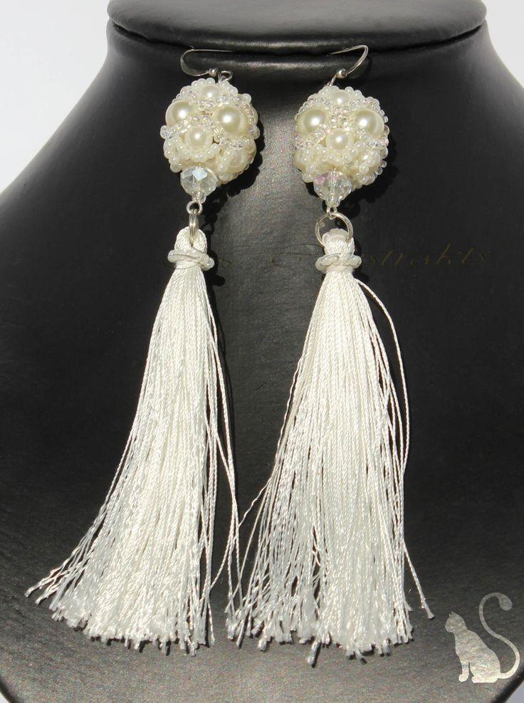 "1. Earrings ""baroque"""