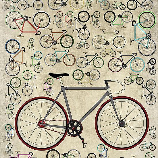 Love Fixie Road Bike