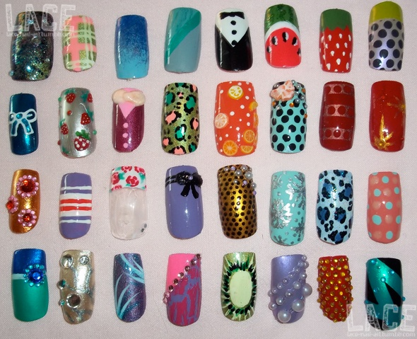 13 best posing with nails images on pinterest british fashion these are a whole bunch of single nails i did to display for friends when they prinsesfo Gallery