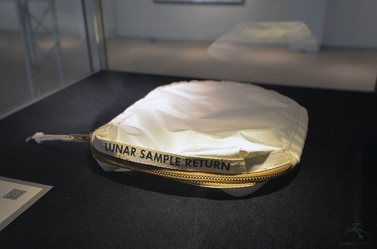 Apollo 11 moon rock bag sells for $1.8M at Sotheby's space auction