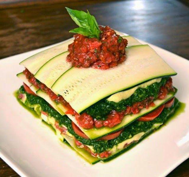 Compárame : Receta de lasaña de zapallos italianos sin masa!