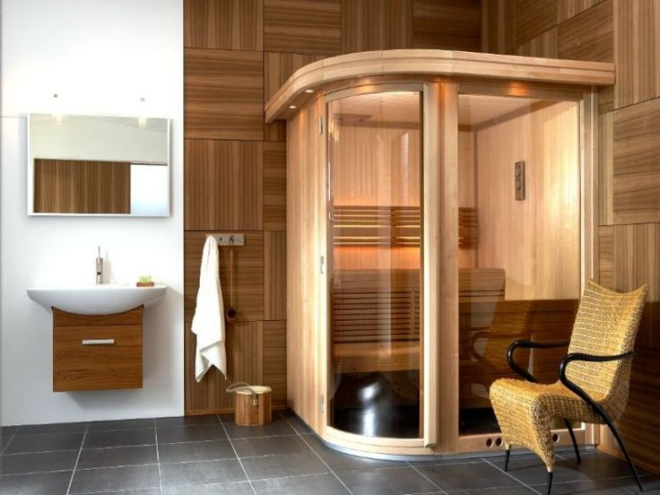 1678 best home sauna images on pinterest | saunas, steam room and spa - Salle De Bain Avec Sauna