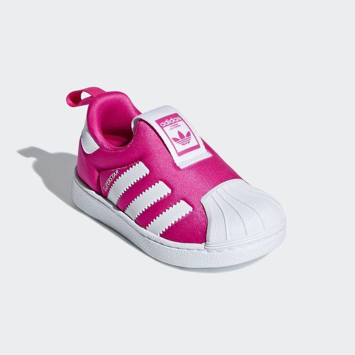 adidas superstar kids slip on