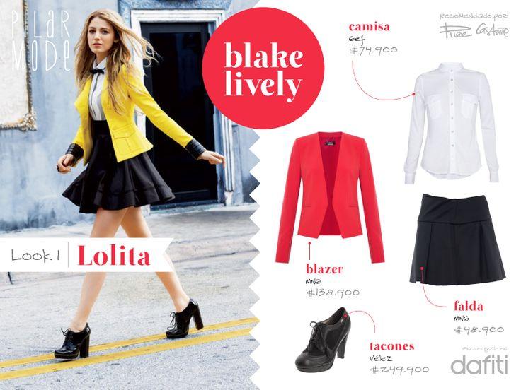 Look Blake Lively- Lolita