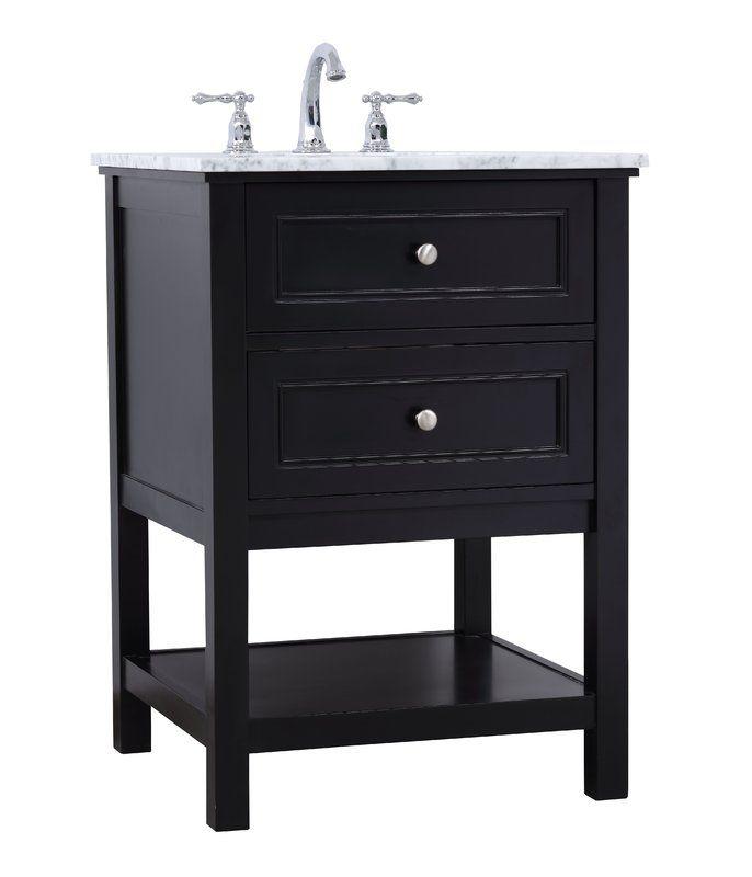 Melissa 24 Single Bathroom Vanity Set Single Bathroom Vanity
