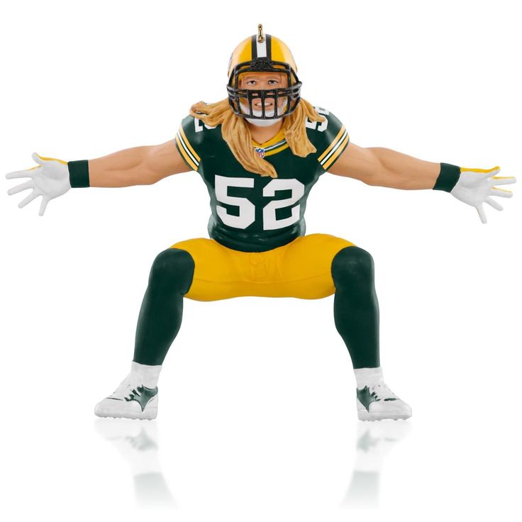 NFL Jersey's Pro Line Mens Green Bay Packers Clay Matthews Big & Tall Team Color Jersey