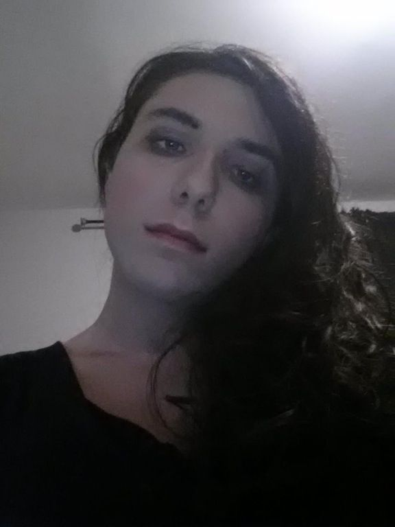 21, no hormones or anything yet, just my second time posting pictures of myself. How is it? : MtF