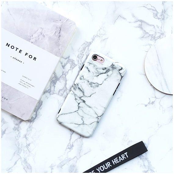 White Marble iPhone 7 Plus Case iPhone 7 Case iPhone 6 Case