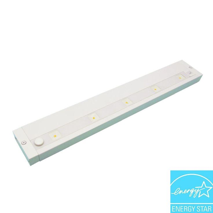 $84.97 / each Juno 18 in. LED White Dimmable, Linkable Under Cabinet Light-