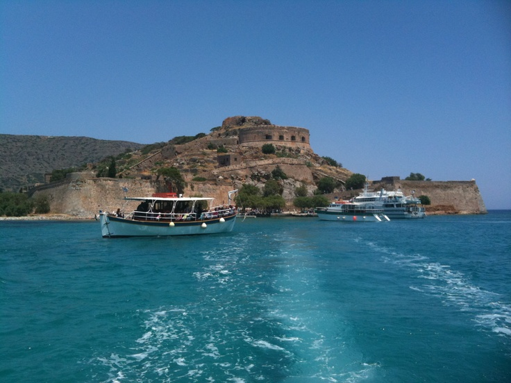 Crete, (this picture shows Spinalonga island, a former leper colony which you can visit by boat from Elounda