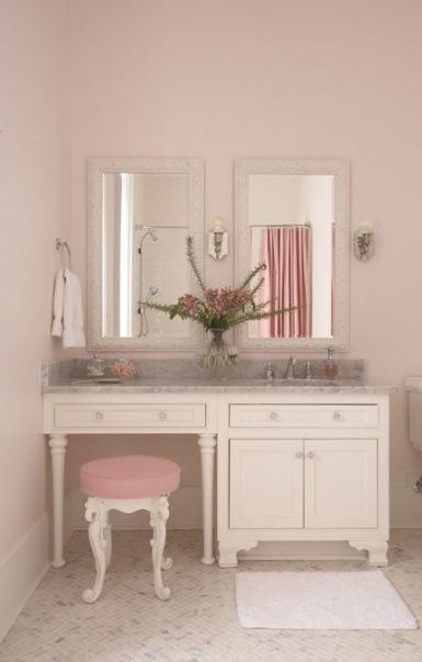 Pretty and pink is usually not my style, but something really resounds with me here