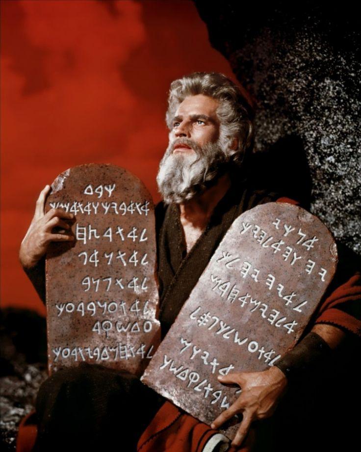 The Ten Commandments - Christian Movie/Film DVD/Blu-ray, Charlton Heston