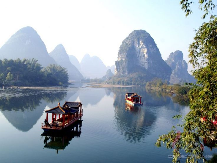 Inspiring The Beautiful Scenery At Li River China Tour Beautiful Tourism also Li River Cruise In China | Goventures.org