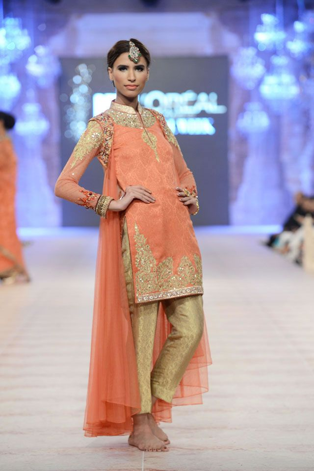 2014 Latest Bridal Asifa & Nabeel PFDC Collection
