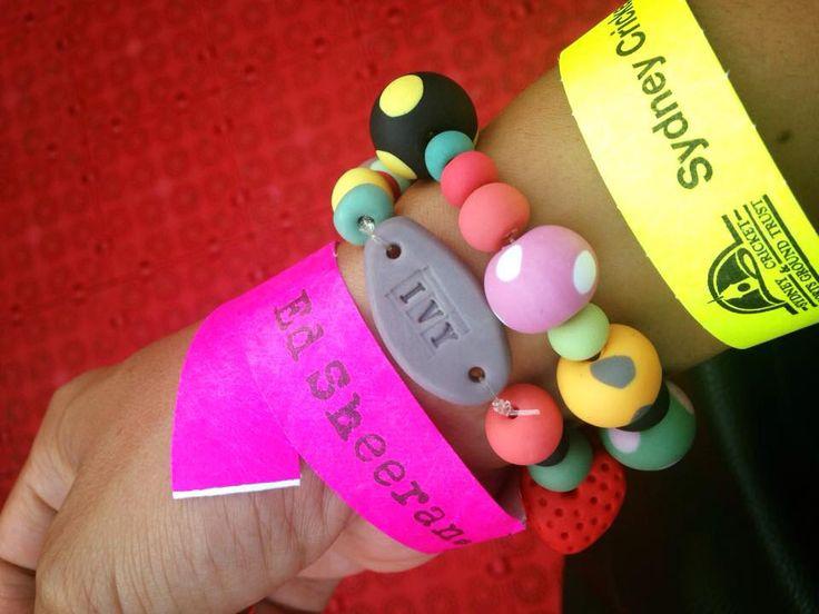 polymer id bracelet