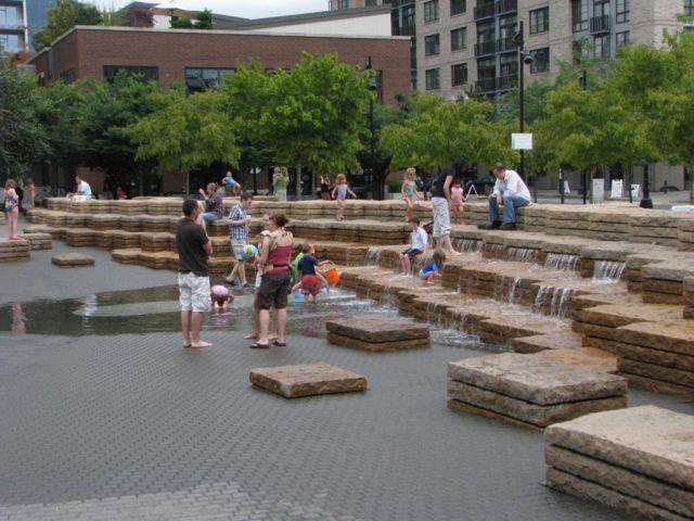 DEW Inc - International Water Feature Design Consultants - Jamison Square