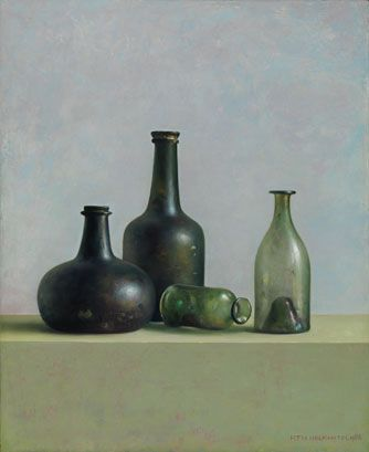 Still Life - Henk Helmantel 1988 oil on board 35 x 45 cm