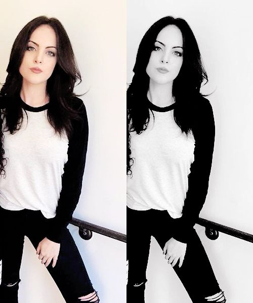 "||Elizabeth Gillies|| ""Hey. names jade. I am 17 and single. I get in trouble a lot, even with the police. I love causing trouble. i guess you could call me emo but whatever. i dont like people at all but come say hi i guess."""