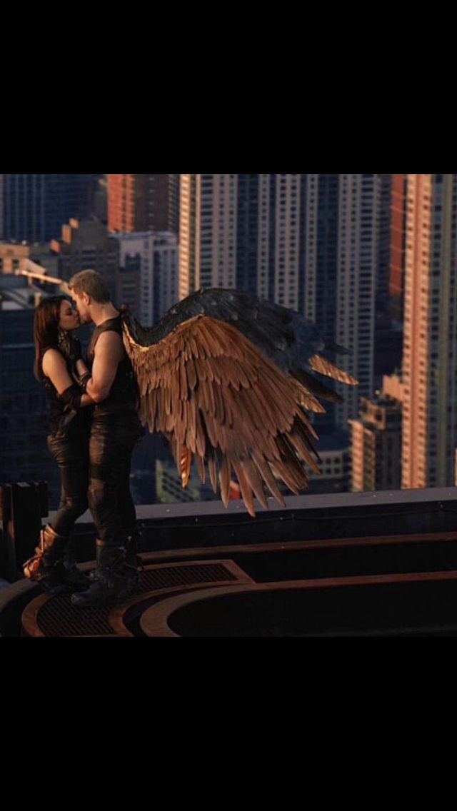 Just finished watching Jupiter Ascending...last few minutes were the best...what girl wouldn't want to be hugged by wings and kissed on top of a building?? ;)